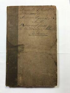 Elements of Greek Grammar by Andrew Alexander 1828 1st Ed Pub: Blackwood Cadell