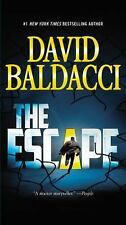 THE ESCAPE BY DAVID BALDACCI (2015) BRAND NEW MASS MARKET PAPERBACK - FREE SHIP