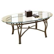 Marlowe Coffee Table - Metal/Glass - Steve Silver