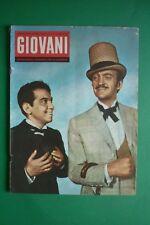Magazine Jeunes N.25/1958 David Niven Cantiflas Bruno Nicole'Athlète Tom