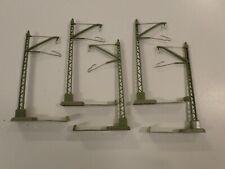 Marklin 7009 HO Cantenary Mast (Set of 5 Masts) 60's Version