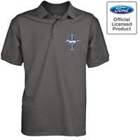 Official License Ford Mustang GT TriBar Men's Polo Shirt