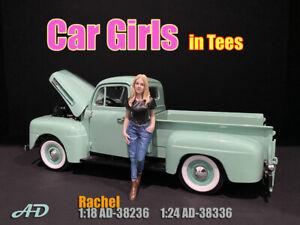 American Diorama 1:18 Scale Figure * Car Girl in Tees - Rachel * AD-38236