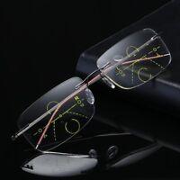 Reading Glasses Progressive Multifocal Lens Presbyopia Anti Fatigue Glasses