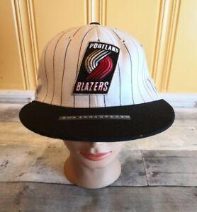 VTG 90's PORTLAND TRAIL BLAZERS RARE Snapback Hat Cap 80s 7 3/8 SUPERGANGSTER