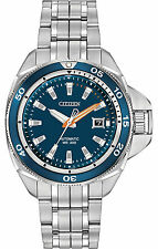 Citizen Signature NB1031-53L Grand Touring Men's Automatic Stainless Steel Watch