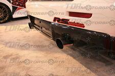 SEIBON 08-14 Lancer Evo X Carbon Fiber Rear Diffuser/Lip Spoiler CZ4A