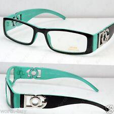 New DG Clear Lens Frames Glasses Fashion Mens Womens Rectangular Black Green