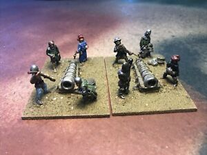 25mm Painted Medieval Artillery with crew