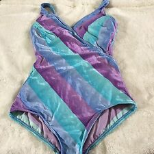 Jantzen Vintage 70's Early 80's One Piece Swimsuit Swim Suit Size 10 EUC Rare