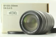[MINT in Box] CANON EF-S 55-250mm f4-5.6 IS Zoom Lens JAPAN #009
