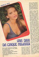 Ga30  Clipping-Ritaglio 1981 Ornella Muti