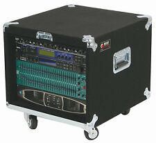 Odyssey CRP08W 8 Space 18.5 Deep Carpeted Pro Rack With Wheels