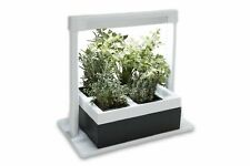 Greenlife LED Herb Lamp Kit with 4 Pot Hydroponic Growing Planter Self Watering