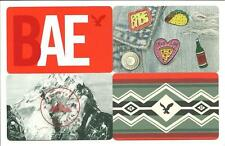 Lot of (4) Different American Eagle Gift Cards No $ Value Collectible AE