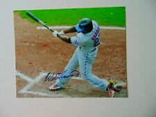 """""""New York Mets"""" Willie Harris Hand Signed 10X8 Color Photo CAS COA"""
