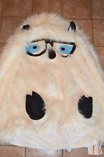 """Pottery Barn Teen Yeti Faux Fur Critters Beanbag Cover White LArge 41"""" #7"""