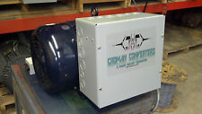 New 40HP 3 PHASE CNC ROTARY PHASE CONVERTER 10 year warranty!