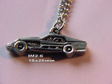 IMCA modified dirt track racing charm necklace auto race car  racing jewelry