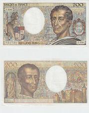 Gertbrolen  200 Francs MONTESQUIEU  Année 1985  J .036