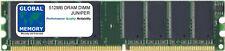 512MB DRAM DIMM JUNIPER J2350/J4350/J6350 RAM (JXX50-MEM-512-S , J4300-MEM-512M)