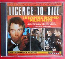 raro rare cd licence to kill james bond 007 roger moore sean connery tim dalton