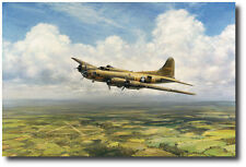 Belle Homewardbound by John Young - B-17 Flying Fortress - Memphis Belle