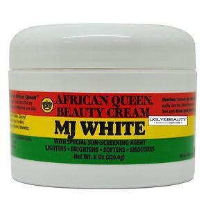 African Queen Beauty Cream MJ White 8 Oz / 226.4 g