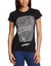 Official Sherlock 'Fingerprint' Ladies T-shirts - Eye-catching design - REDUCED