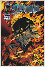 Spawn #19 NM- 9.2 AUTO Signed by Greg Capullo!