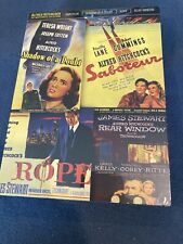 4 Dvds Alfred Hitchcock classics /Rope/Saboteur/Rear Window/Shadow of a Doubt