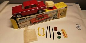 Dinky Toys 536 Peugeot 404 et remorque monoroue - Avec Boite - Made in France