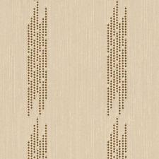 Gemusterte Tapeten aus Textil fürs Wohnzimmer