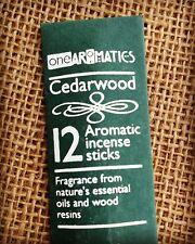 One Aromatics Incense Sticks Cedarwood Fragrance Fair Trade in India Vegan