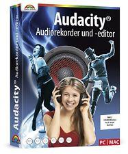 Audacity ® - Musik bearbeiten,konvertieren,schneiden,aufnehmen inkl.PDF Handbuch