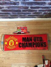 50 X Manchester United Goal Double Sided Rolling Banner Man Utd JOBLOT BUNDLE