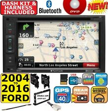 2004-16 FORD MERCURY GPS NAVIGATION SYSTEM BLUETOOTH USB CAR RADIO STEREO PKG