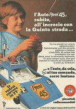 X9951 Auto radiocomandata REEL 45 - Pubblicità 1976 - Advertising