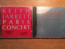 Keith Jarrett [ 2 CD Alben ECM ] Paris Concert  + Vienna WIEN Concert