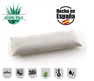 Almohada de Viscoelastica Copos 3D con Aloe Vera Aloe-Tex 70 90 105 135 150