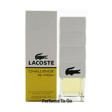 * LACOSTE CHALLENGE REFRESH pour HOMME * 2.5 oz (75 ml) EDT Spray * NEW in BOX