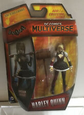 DC COMICS MULTIVERSE ARKHAM NIGHT HARLEY QUINN 3.75 INCH FIGURE NEW ON CARD