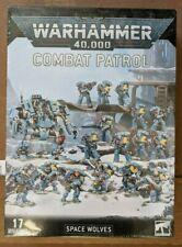 40k Warhammer Combat Patrol Primaris Space Wolves New Sealed