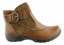 Zip Leather Slim Ankle Women's Boots