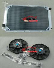 Radiador Aluminio + Fans Nissan Patrol Safari GQ Y60 2.8 4.2L DIESEL 3.0LT 87-97