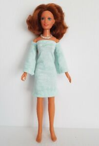 Vintage Kenner DARCI Doll Clothes DRESS & NECKLACE Handmade Fashion NO DOLL d4e