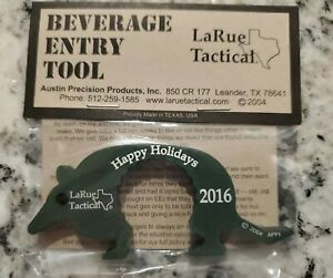 LaRue Tactical Beverage Entry Tool Happy Holidays 2016 Dillo New!!