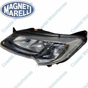 Fits Fiat Ducato Peugeot Boxer Citroen Relay Left Headlight Silver With DRL OEM