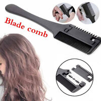 Hair Trimmer Cutter Holder Comb Barber Blade Razor Hairdressing Cutting Tool NEW