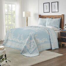 Medallion Cotton Blend Jacquard Bedspread Set by Blue Nile Mills